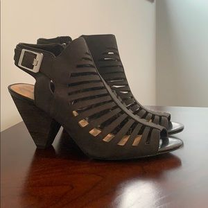 Vince Camuto Strappy Ankle High Shoes